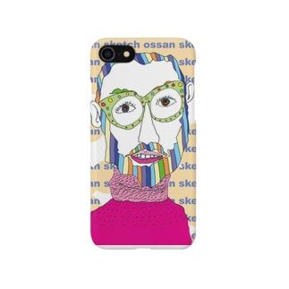 メガネのオッサン Smartphone cases