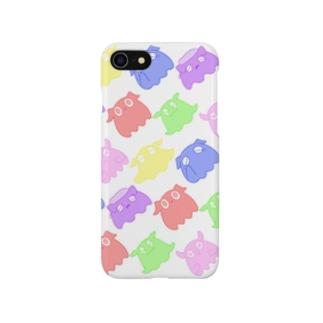カラフルなメンダコちゃん Smartphone cases