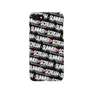 ②iphoneケース各種(Summer I Scream) Smartphone cases