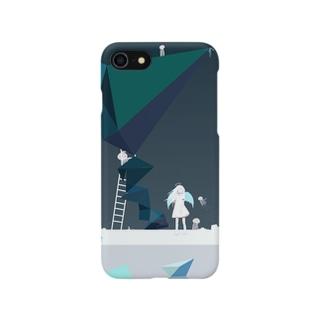 天使とクラゲ Smartphone cases