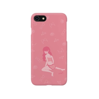 Lingerie ピンク♡ スマートフォンケース