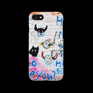 DoiMayumiのPOP ART(HAPYY END) スマートフォンケース