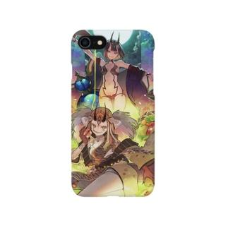 茨木童子・酒呑童子 Smartphone cases