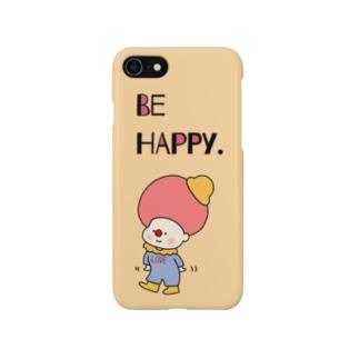BE HAPPY. Smartphone cases