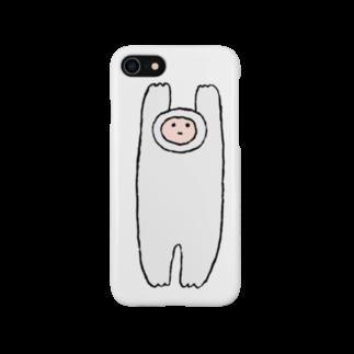 ミーゴレンちゃんの巨大もち人間 Smartphone cases