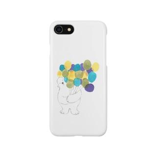 たくさん集めた風船なら Smartphone cases