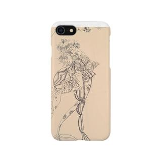 アンティーク 夏 Smartphone cases