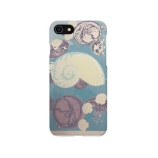オウム貝とクラゲ、ときどきクリオネ Smartphone cases