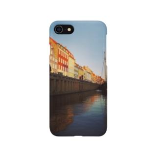 コペンハーゲンの運河 Smartphone cases