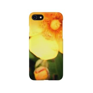 イエローフラワー Smartphone cases