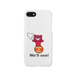 玉のりモクモックマ ピンク オリジナルアイテム Smartphone cases