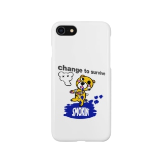 モクモックマゾンビ 黄 オリジナルアイテム Smartphone cases