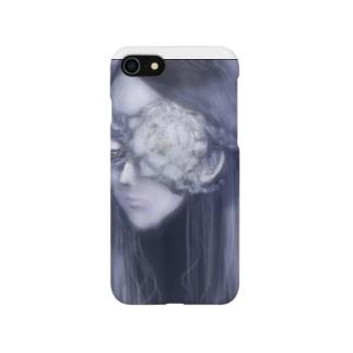 死んだ魚の目の乙女(牡丹) Smartphone cases