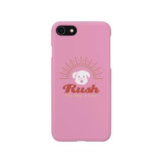 Rush-Pink- スマートフォンケース