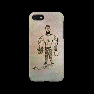 OkamotoNoOmiseのカールさん Smartphone cases
