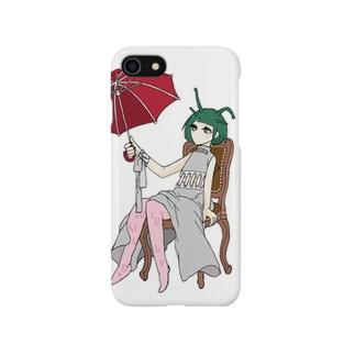 蝸牛さん。 Smartphone cases