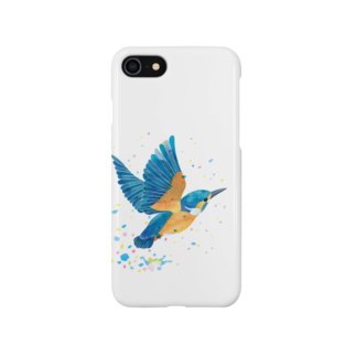 ヒフミ ヨイのカワセミ飛沫 Smartphone cases