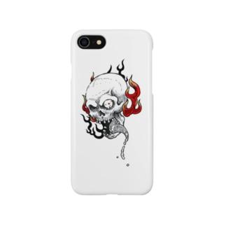 火炎髑髏 Smartphone cases