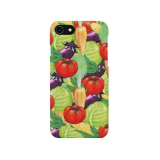 8月NEW「野菜王国」 Smartphone cases