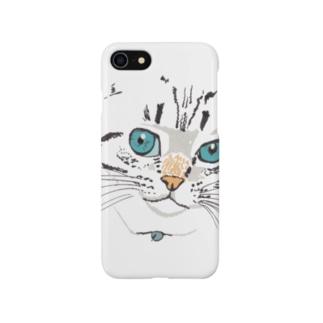 cat face Smartphone cases