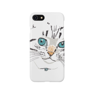 cat face Smartphone cases