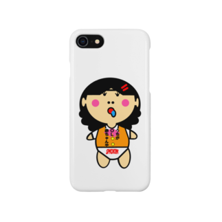 オリジナルデザインTシャツ SMOKIN'のOL赤ちゃん Smartphone cases