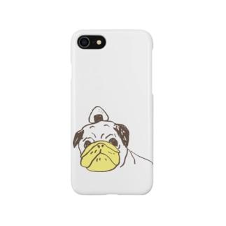 おにぎりパグ Smartphone cases
