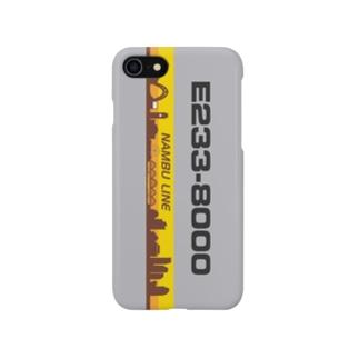 鉄道 iPhoneケース(E233系8000番代) スマートフォンケース