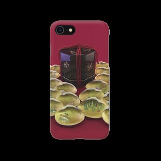 JUNSATO TreasureHouseの貝覆い 携帯ケース スマートフォンケース