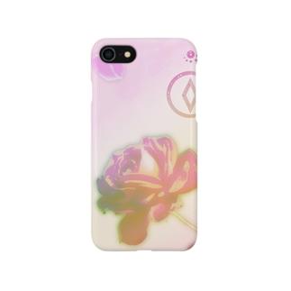 一輪のバラ Smartphone cases