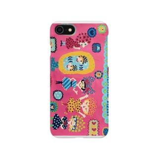 鏡よ、鏡 iphone6plus スマートフォンケース