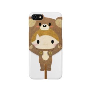 着ぐるみシリーズ(森のくまさん) Smartphone cases