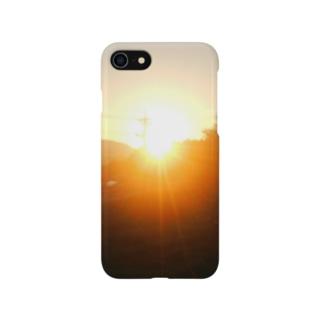 朝焼けA Smartphone cases