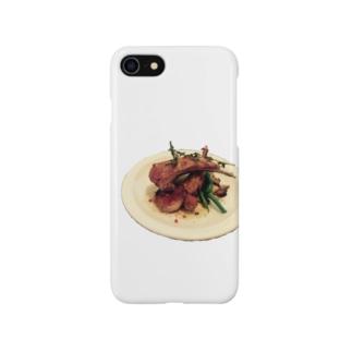 NZのソウルフード ラムチョップ Smartphone cases
