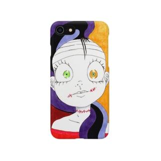 女の子作品003 全面 Smartphone cases