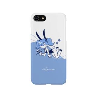 バニーブルー▼ Smartphone cases