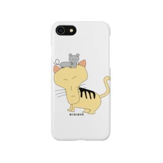 猫三郎と鼠五郎 Smartphone cases