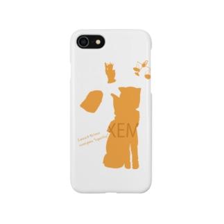 ネムちゃん シルエット Smartphone cases