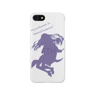 イーサリアムちゃん シルエット Smartphone cases