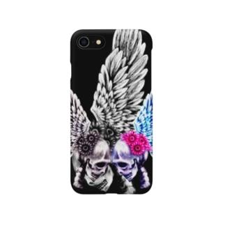 恋するガイコツ Smartphone cases