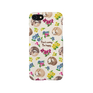 Don't worry. Be happy. Smartphone cases
