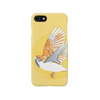 愛鳥週間(スズメ) Smartphone cases