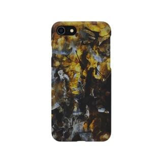 真夜中の紫苑 Smartphone cases