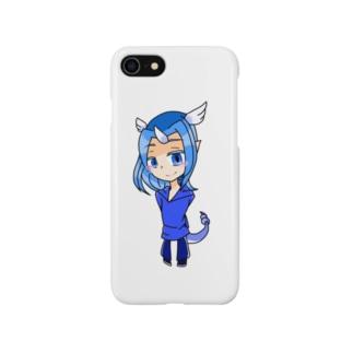 ハクくんのスマホケース Smartphone cases