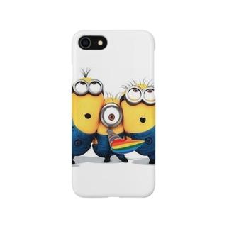 大人気 ミニオンズ! Smartphone cases