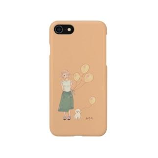 黄色い風船🎈 Smartphone cases