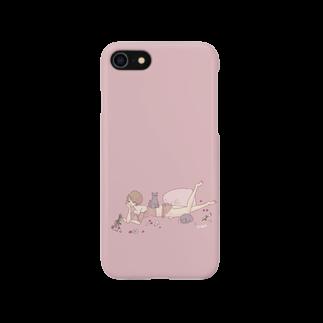 non.FuLFiLLの猫と枕 Smartphone cases