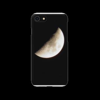 銀河鉄道のじょるの今日の月 Smartphone cases