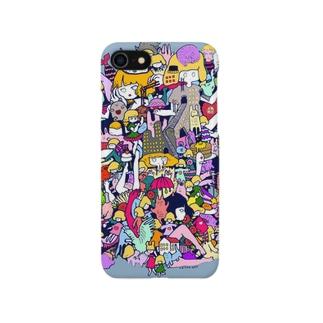 iPhoneケース【23時のおやつ】 Smartphone cases