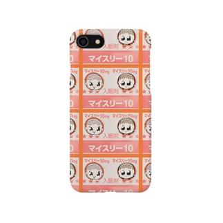 屍マイスリー マルチ柄 Smartphone cases